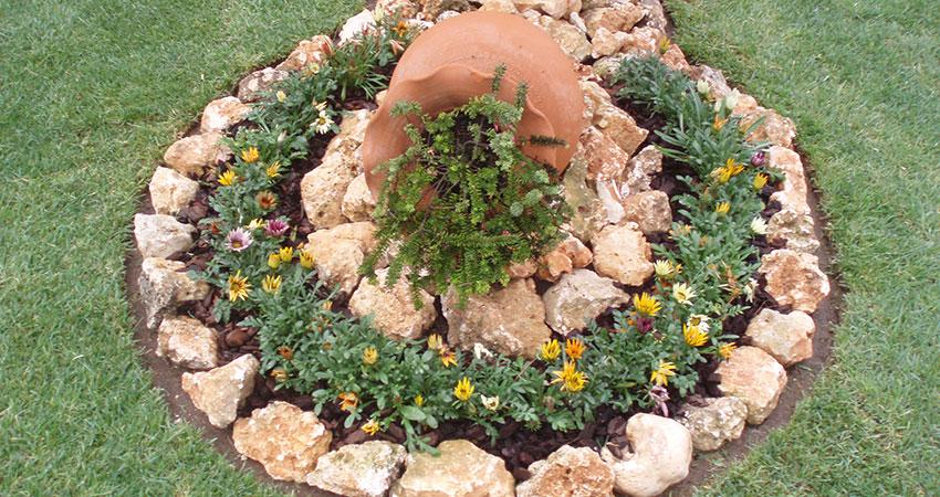 Arranjos Decorativos com Pedra